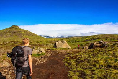 Enjoy our scheduled walking tours in beautiful West Iceland. You stay at the 4 star hotel Húsafell and enjoy guided daily easy hikes for 4-5 hours.  ​4 days / 3 nights from June - August Minimum 2 persons  Guided micro group tours with max 4 persons.